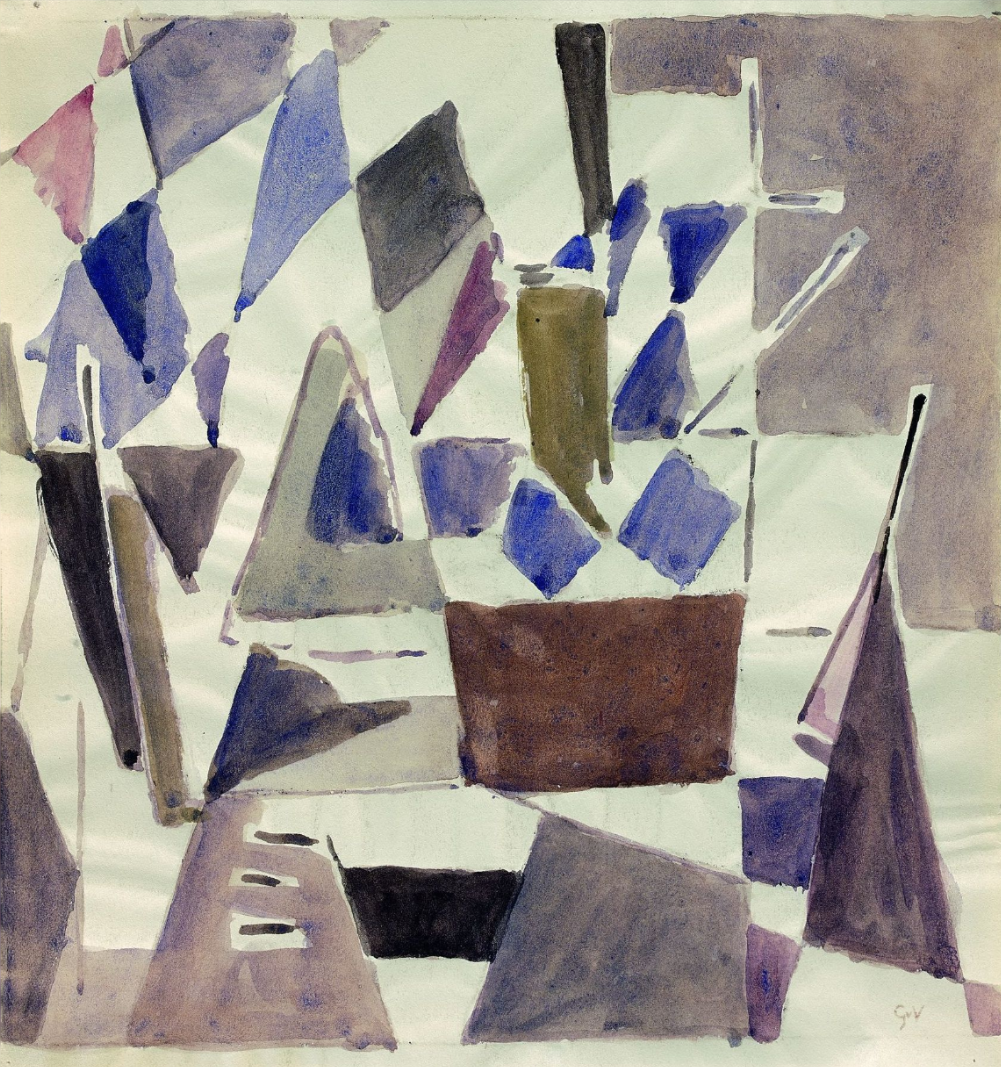 Composition, Vers 1958