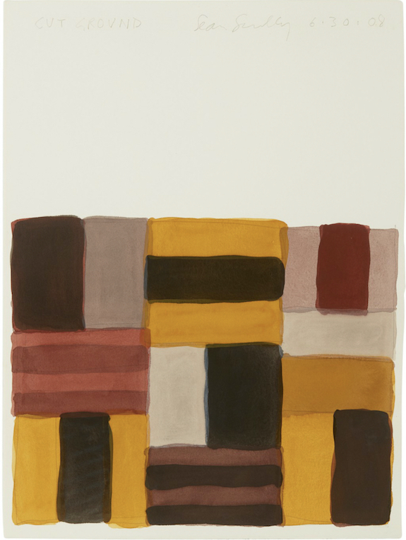 Sean Scully - Cut ground, 2008