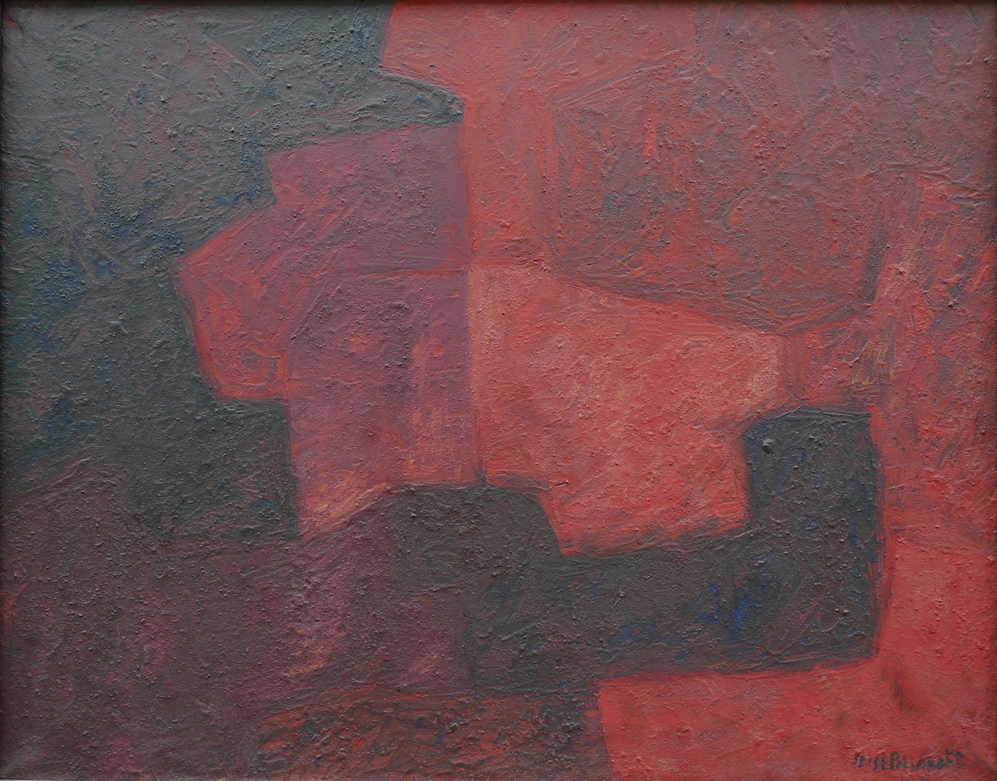 Serge Poliakoff - Composition abstraite, 1964